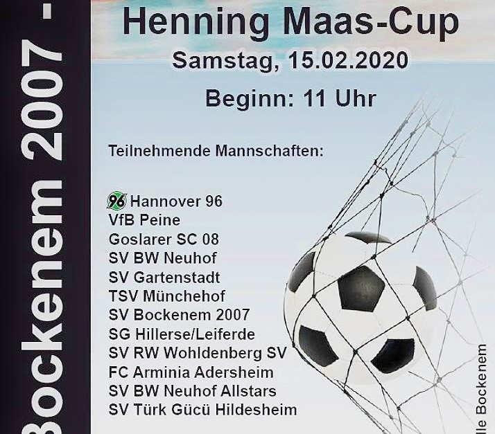 Live-Ticker zum Ü40 - Gaststätte Maas-Cup