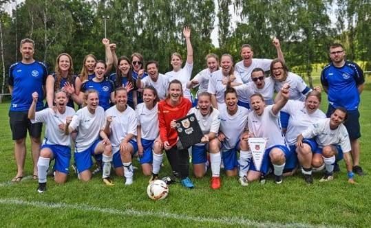 Fußball-Damen sind Kreispokalsieger