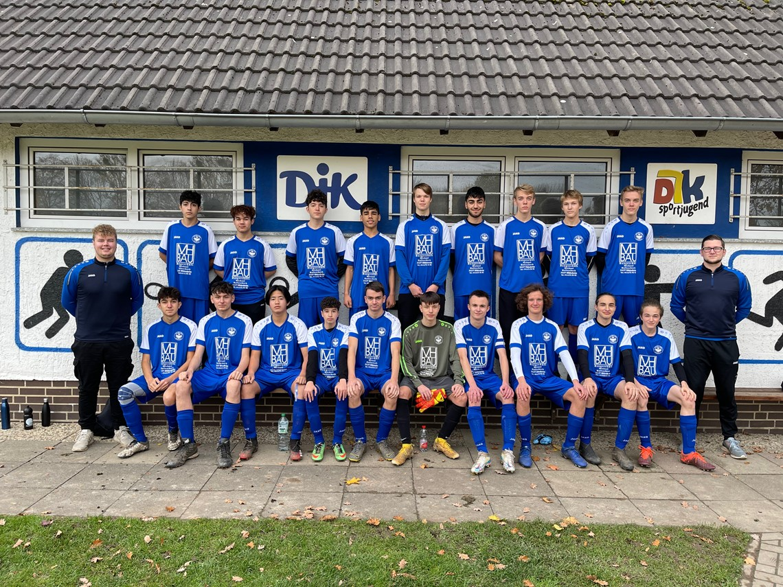 Mannschaftsfoto DJK BW Hildesheim
