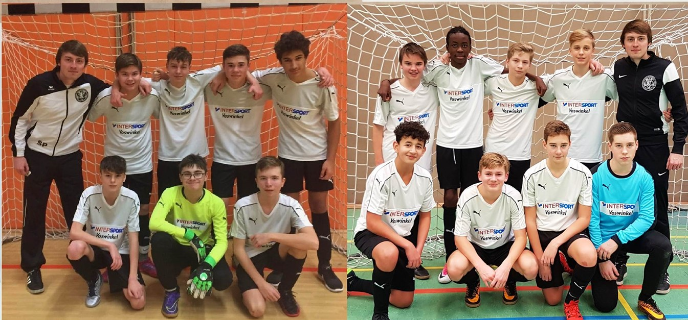 Beide U15-Teams jeweils Staffelsieger