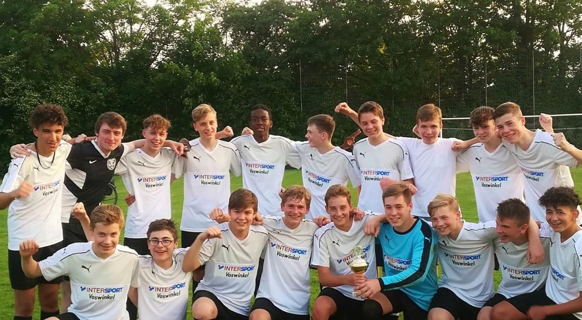 U15-Junioren gewinnen die Kreismeisterschaft!