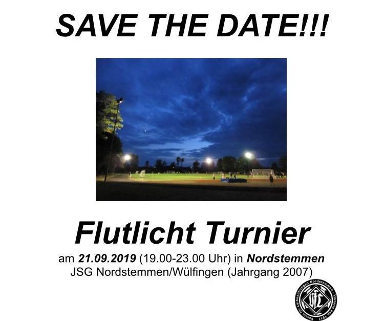 Save the date: Flutlichtturnier am 21. September!