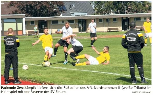 """Nordstemmen II mit """"Nullnummer"""""""