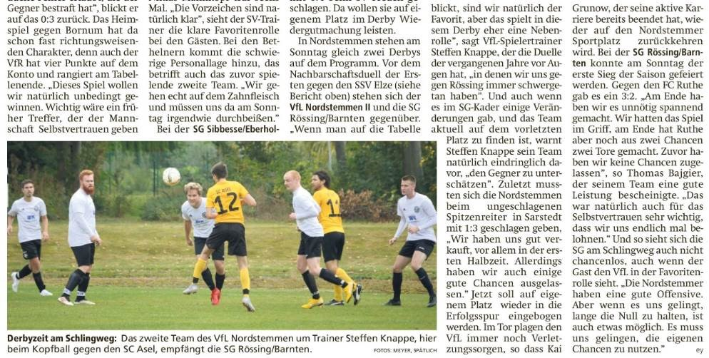 Rückblick: Vorschau 6. Spieltag (LDZ)