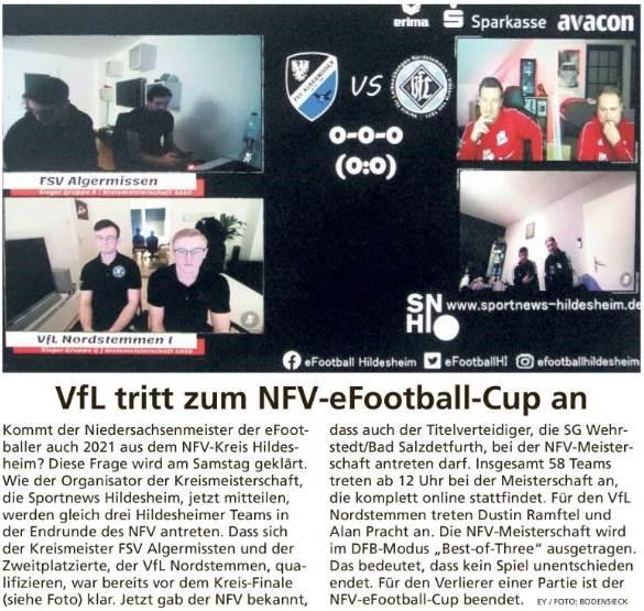 Berichterstattung Niedersachsenmeisterschaft