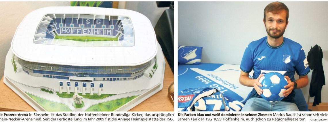 Hoffenheim-Fans sind hier Exoten