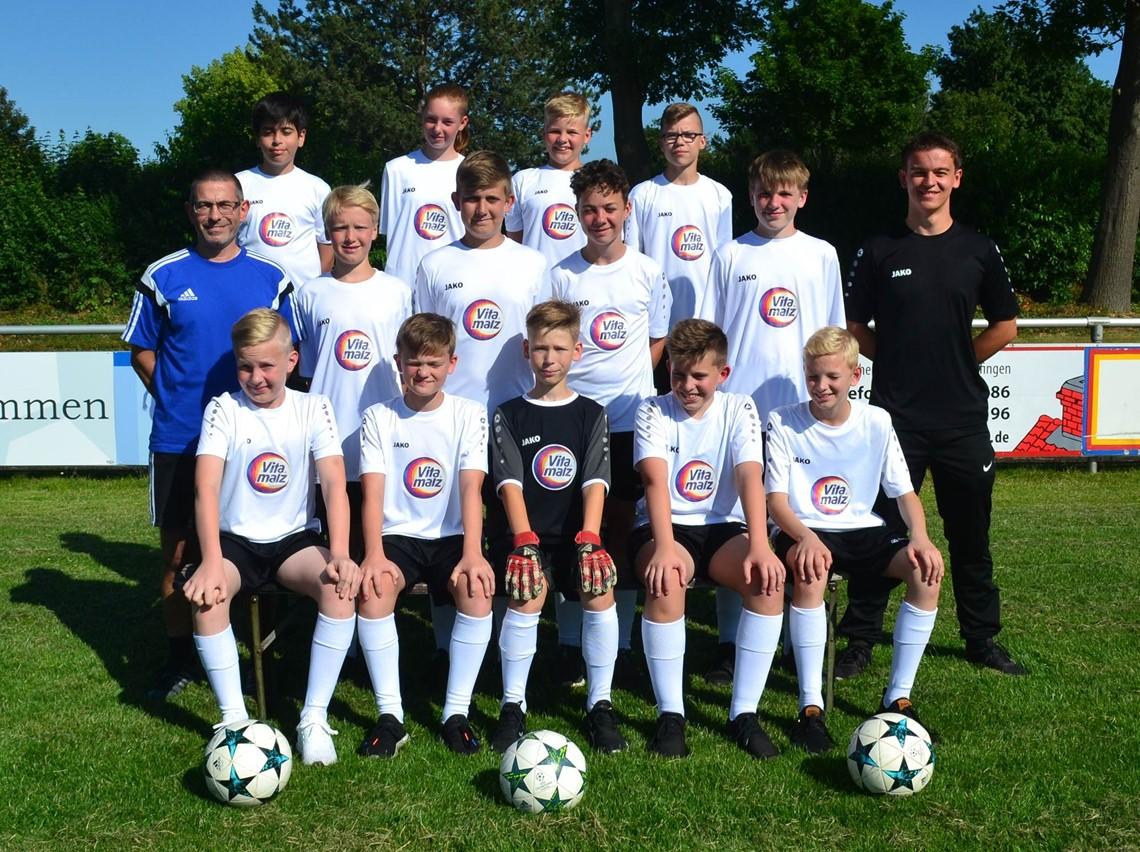 Mannschaftsfoto VfL Nordstemmen 2