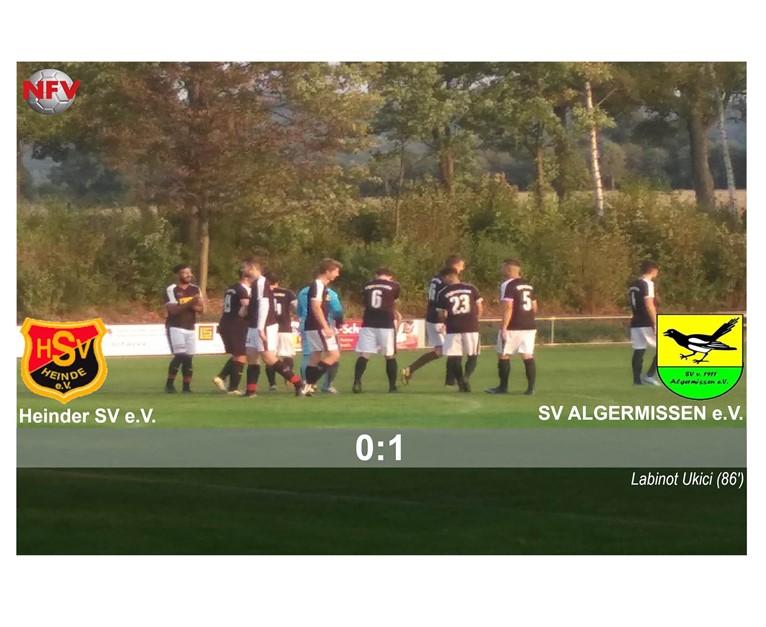 Heinder SV - SV Algermissen 0:1