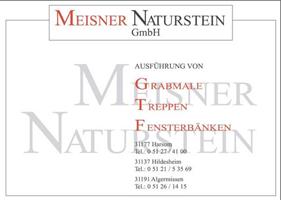 Sponsor - Meissner Naturstein