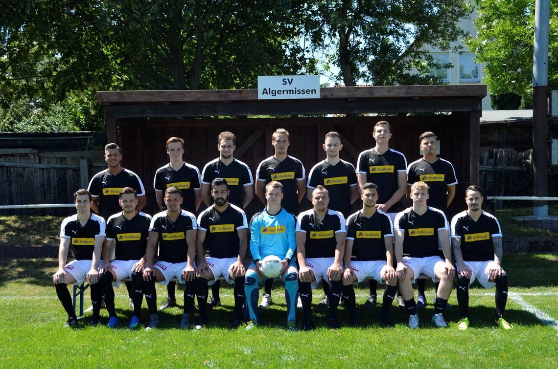 Mannschaftsfoto SV Algermissen