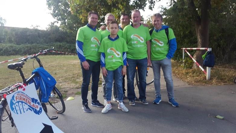 Unterstützung des Hildesheimer Firmenlaufs