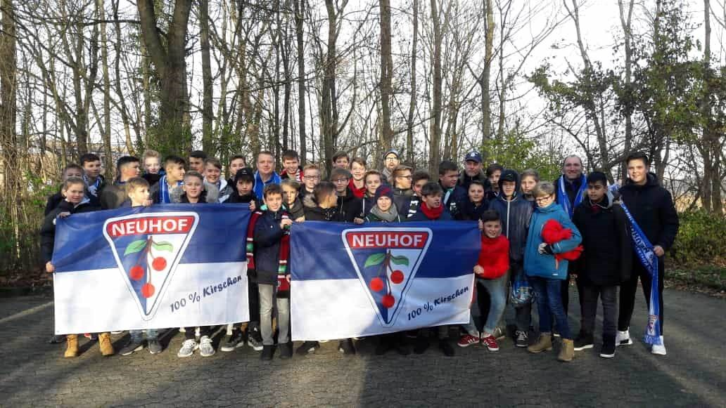 Besuch bei Hannover 96