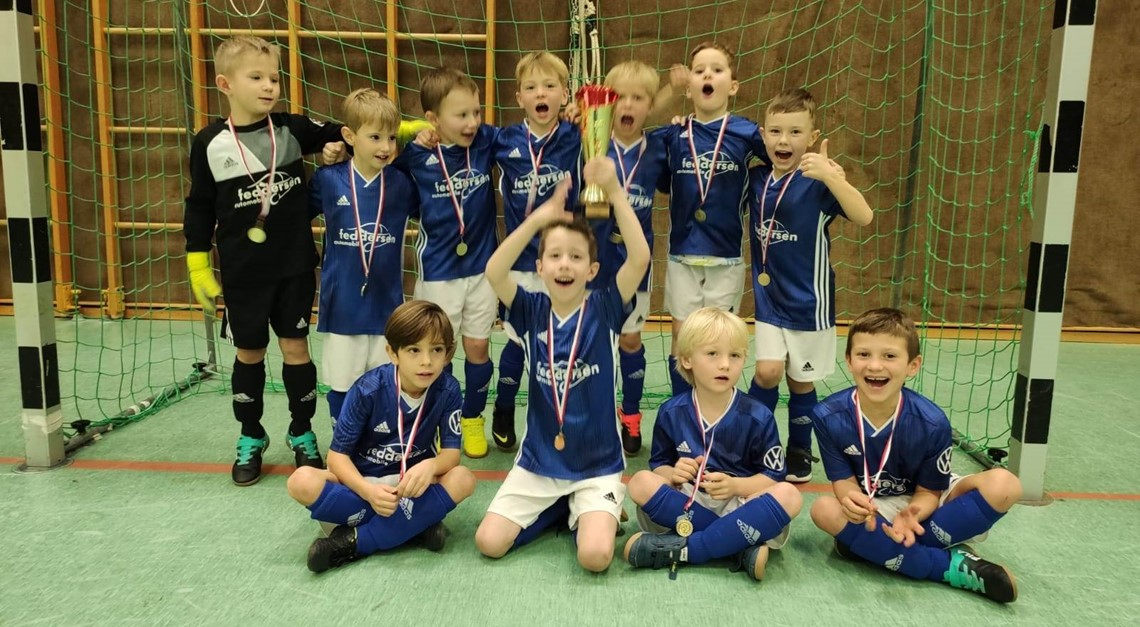 U7 Sieger des Bambini Kids Cup