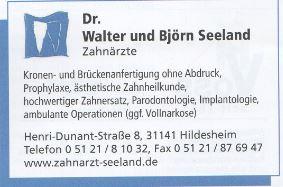 Sponsor - Zahnarzt Seeland