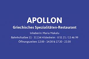 Sponsor - Apollon