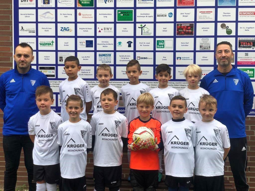 Mannschaftsfoto SV BW Neuhof 2