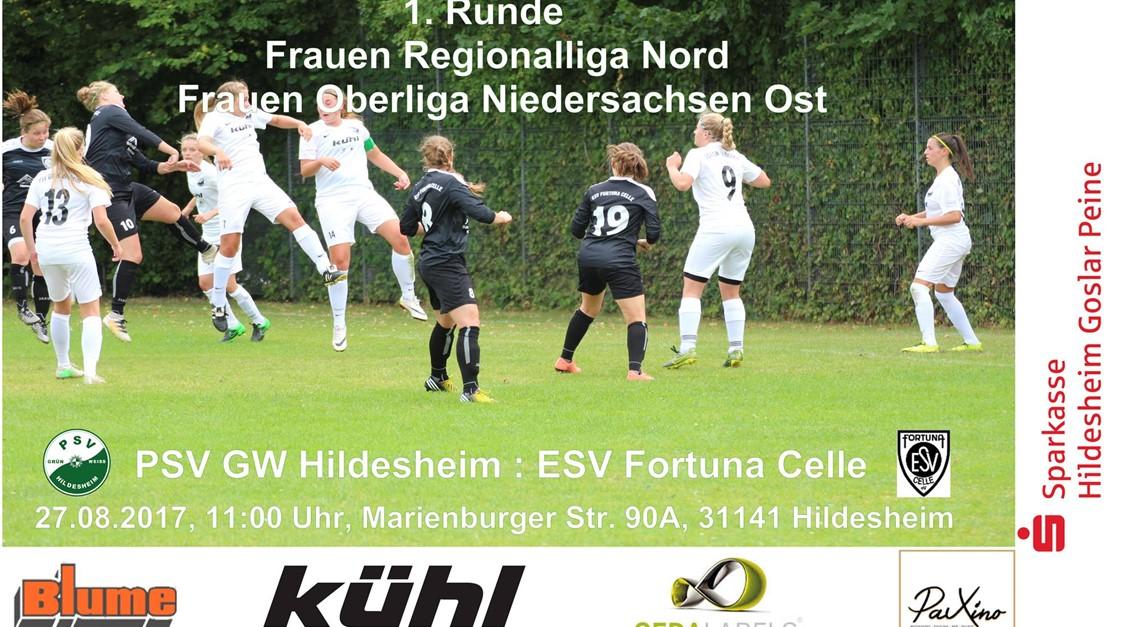 Im Niedersachsenpokal wieder gegen Celle