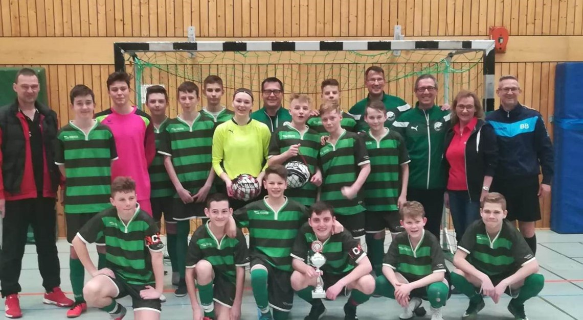 U15 wird Kreismeister im Futsal 2018/19