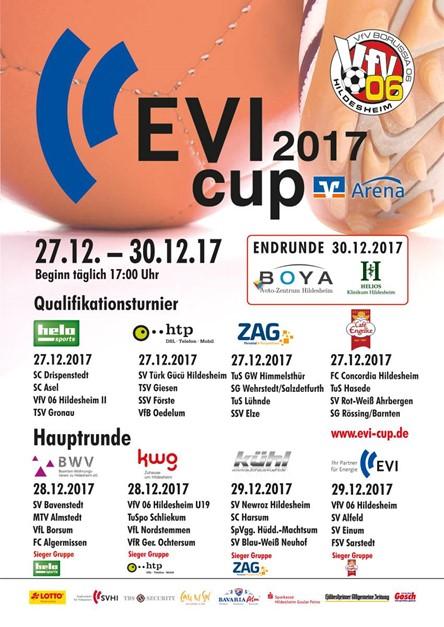 Erste Herren nimmt am EVI-Cup 2017 teil