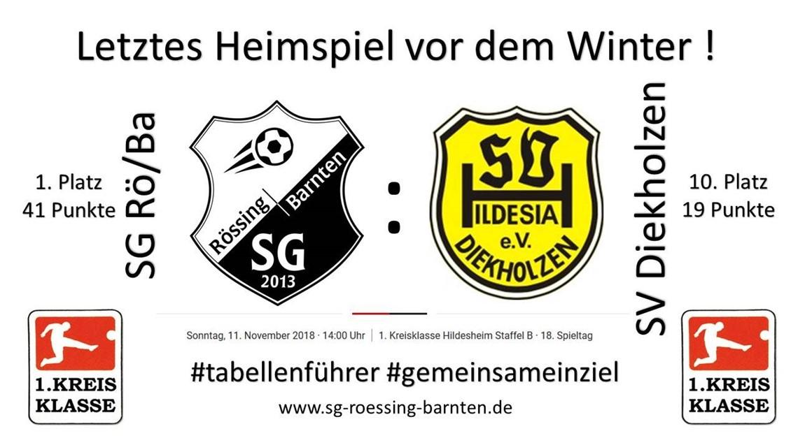 Letztes Heimspiel 2018 - 1.Herren