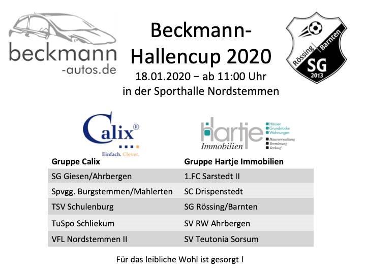 Auto-Beckmann-Hallencup 2020