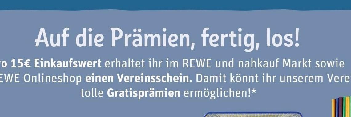 REWE-Vereinsscheine