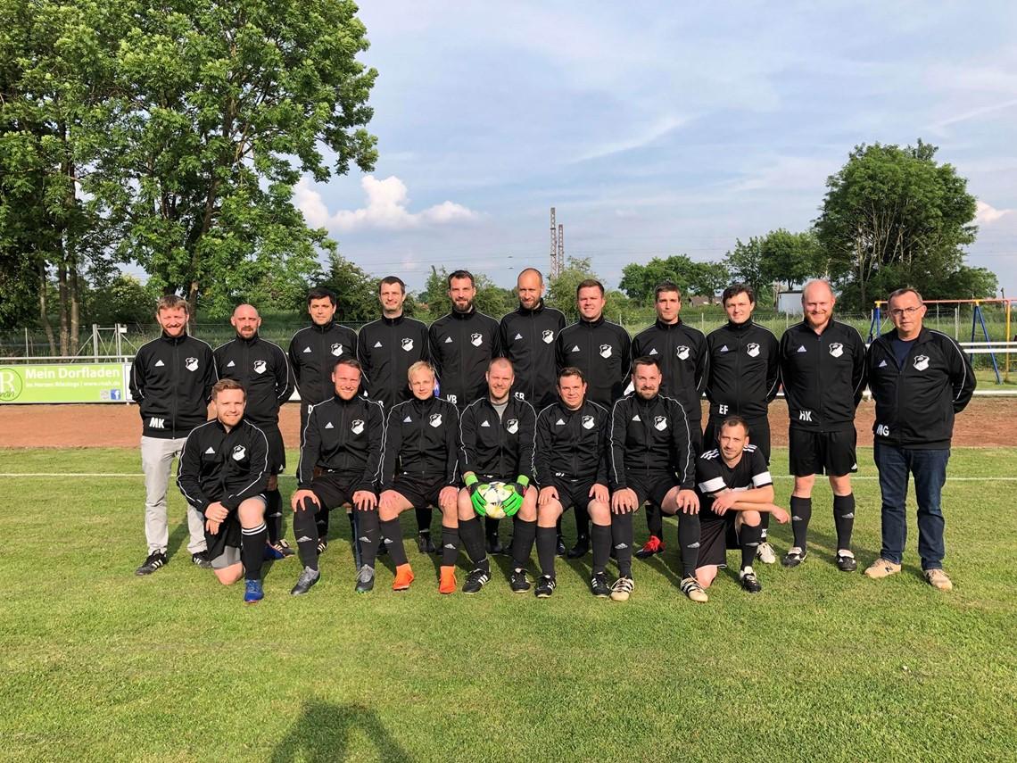 Mannschaftsfoto SG Rössing/Barnten