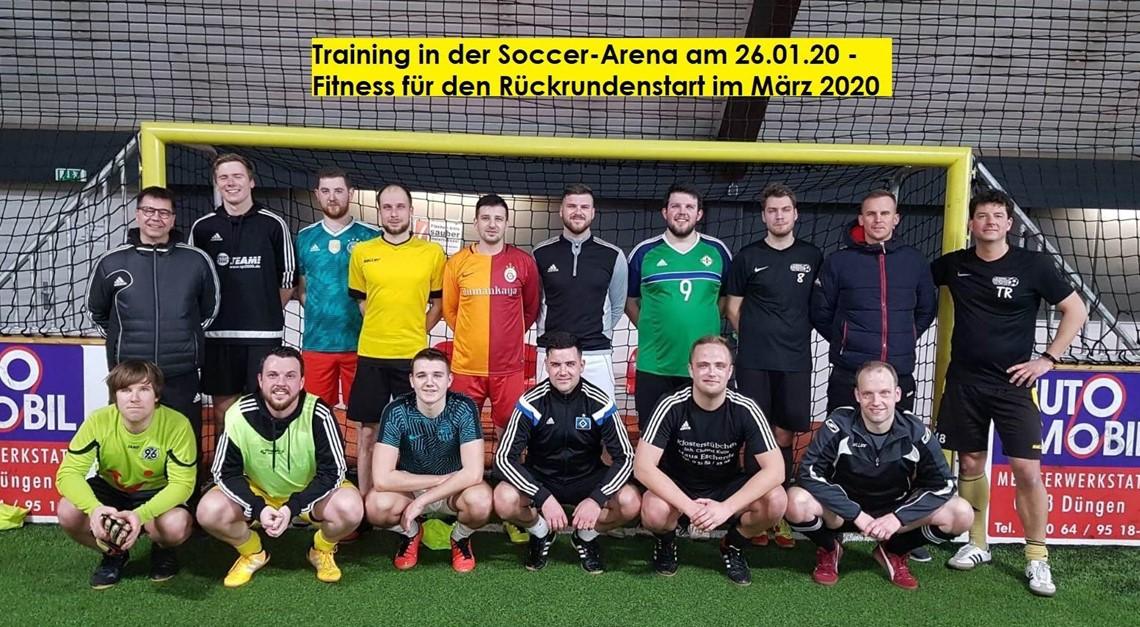 Trainingsauftakt Rückrunde Saison 2019/2020