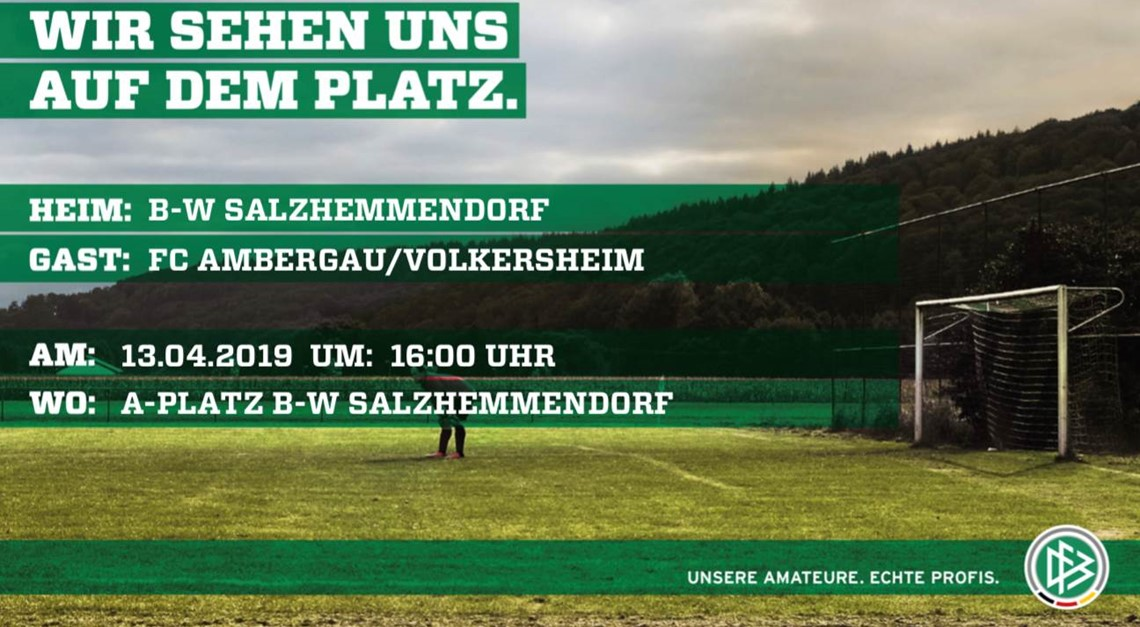 Auswärtsspiel in Salzhemmendorf