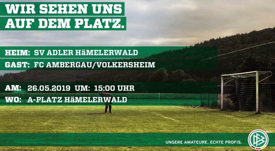 Auswärtsspiel gegen SV Adler Hämelerwald