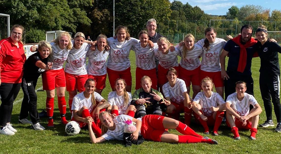 Damen gewinnen Ligaderby