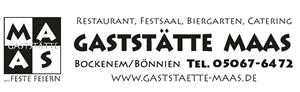 Sponsor - Gaststätte Maas