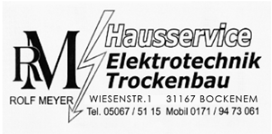 Sponsor - Rolf Meyer - Hausservice