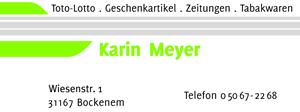Sponsor - Karin Meyer - Tabakbörse
