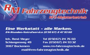 Sponsor - RM Fahrzeugtechnik