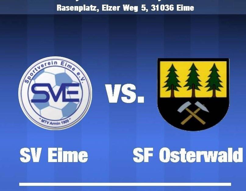 SVE testet gegen die Sportfreunde aus Osterwald