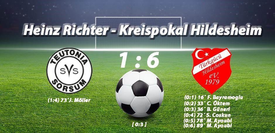 Kreispokal -  Ayoubi mit zwei Toren