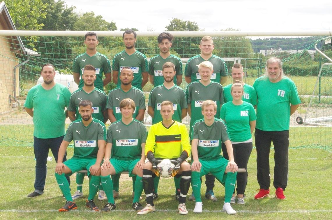 Mannschaftsfoto SG Frankenfeld