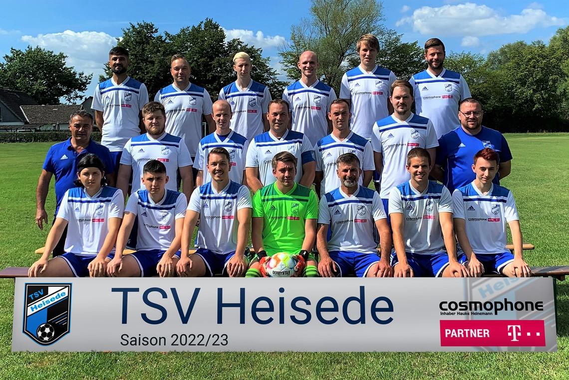 Mannschaftsfoto TSV Heisede