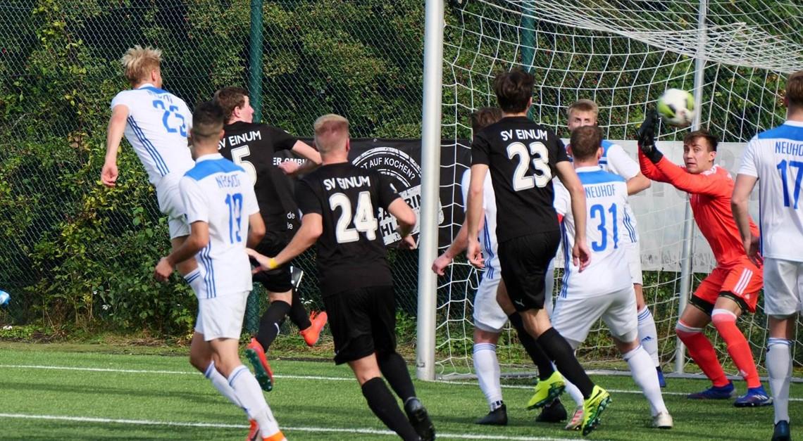Bezirksliga-Elf spielt 1:1 in Neuhof