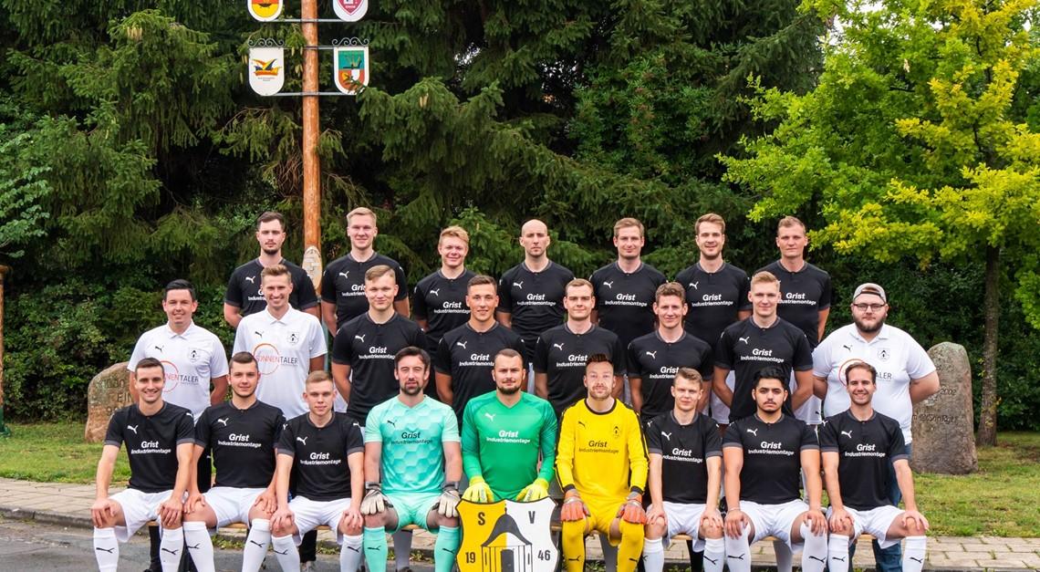 Mannschaftsfoto I. Herren 2020/2021