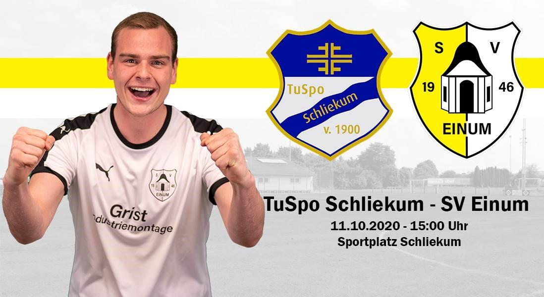 Top-Spiel der Bezirksliga gegen TuSpo Schliekum!