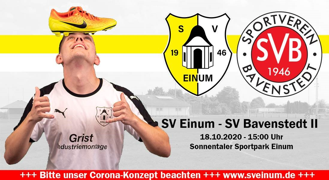 Derby zum Rückrundenstart - Bavenstedt II kommt!