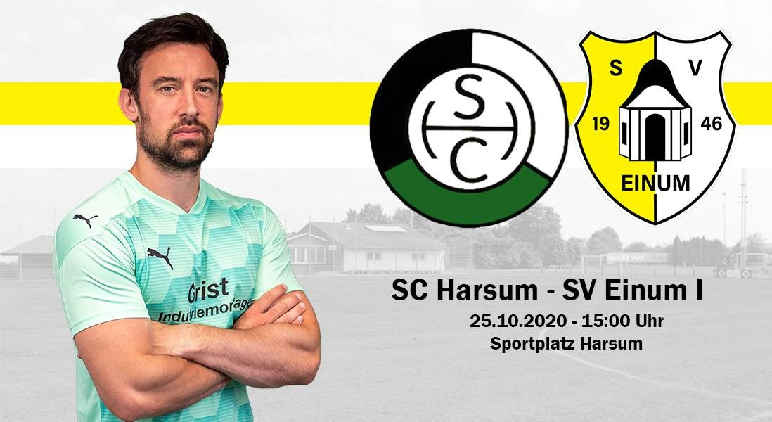 I. Herren im Duell gegen Verfolger SC Harsum!