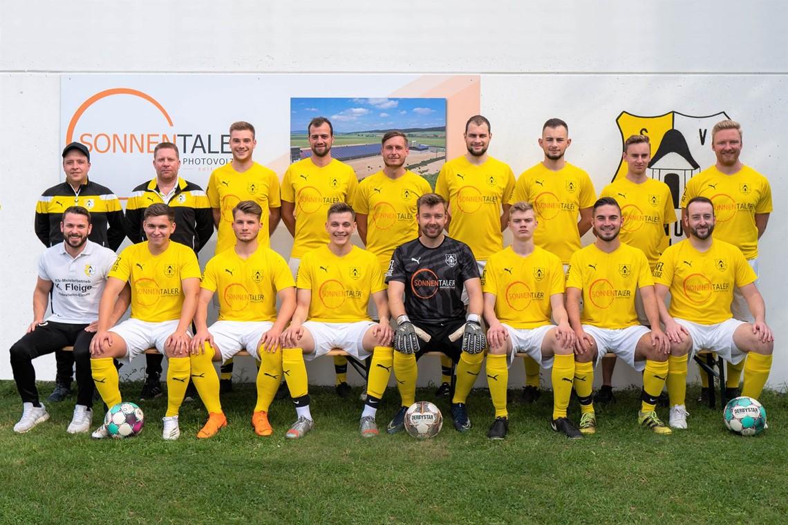 Mannschaftsfoto SV Einum 2