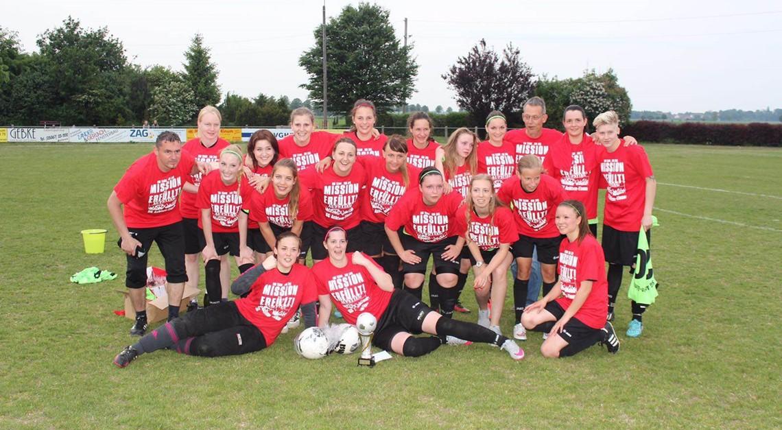 Frauen steigen in die Bezirksliga auf!