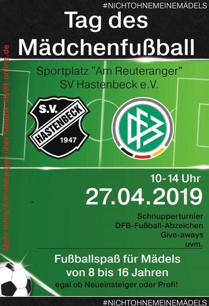 Erneut Tag des Mädchenfußball in Hastenbeck!