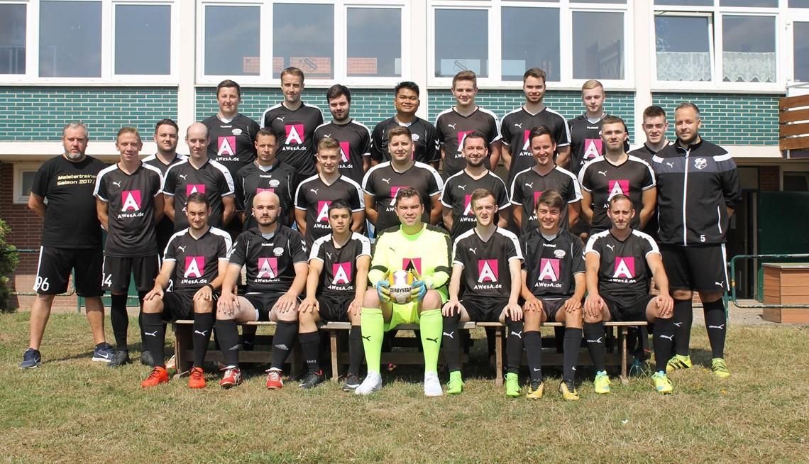 Mannschaftsfoto SV Hastenbeck