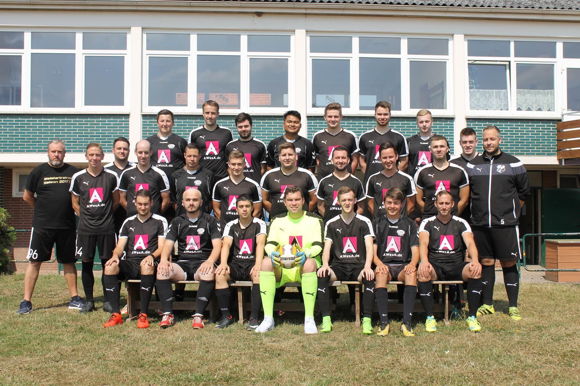 Mannschaftsfoto SV Hastenbeck 2