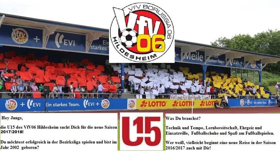 Sichtungstraining für U15 Bezirksliga